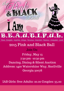 Pink and Black Ball 2015